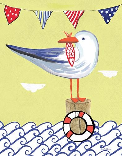 Coastal Bird II Poster by Farida Zaman for $41.25 CAD