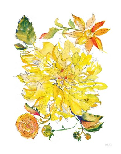 Dahlia Delight of the Day III Poster by Kristy Rice for $37.50 CAD