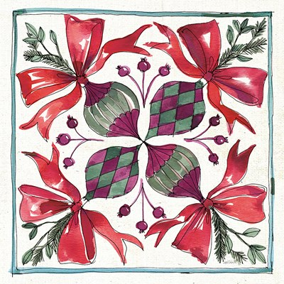 Seasonal Charm IX Poster by Anne Tavoletti for $50.00 CAD