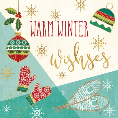 Winter Wishes I Poster by Veronique Charron for $35.00 CAD