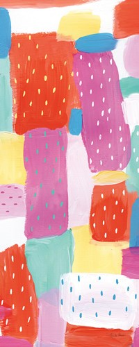 Happy I Spots Crop Poster by Farida Zaman for $37.50 CAD