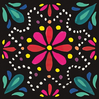 Floral Fiesta Tile II Poster by Laura Marshall for $35.00 CAD