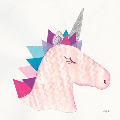 Unicorn Power I Poster by Courtney Prahl for $50.00 CAD