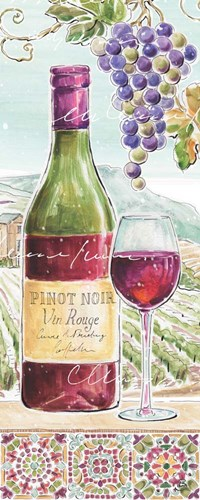 Wine Country VI Poster by Daphne Brissonnet for $37.50 CAD