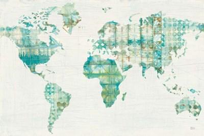 Kanari Map Poster by Melissa Averinos for $45.00 CAD