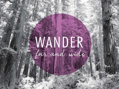 Wander Far and Wide v2 Poster by Laura Marshall for $42.50 CAD