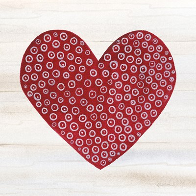 Rustic Valentine Heart III Poster by Kathleen Parr McKenna for $50.00 CAD