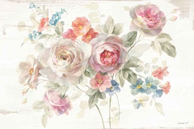Cottage Garden I Poster by Danhui Nai for $45.00 CAD