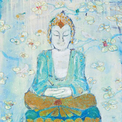 Buddha Square Poster by Kellie Day for $81.25 CAD
