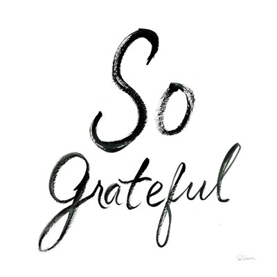 So Grateful Poster by Sue Schlabach for $57.50 CAD