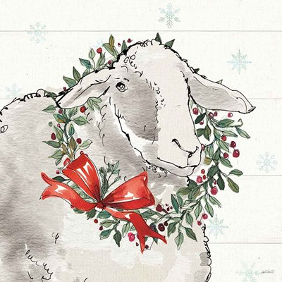 Modern Farmhouse XIII Christmas Poster by Anne Tavoletti for $65.00 CAD