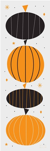 Festive Fright Pumpkins Poster by Michael Mullan for $68.75 CAD