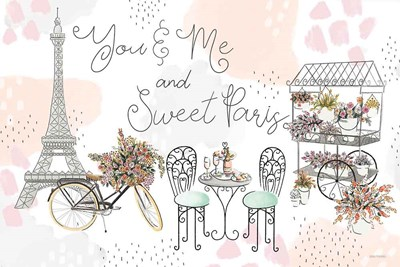 Sweet Paris I Poster by Laura Marshall for $45.00 CAD