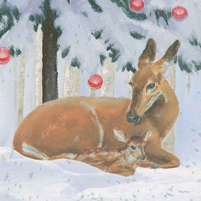 Christmas Critters Bright VIII Poster by Emily Adams for $35.00 CAD