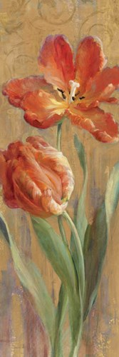 Parrot Tulips on Gold II Poster by Danhui Nai for $33.75 CAD