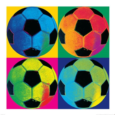 Ball Four-Soccer Poster by Wild Apple Portfolio for $110.00 CAD