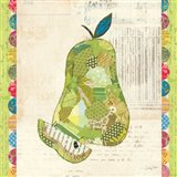Fruit Collage III - Pear -