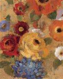 Jacquard Floral I