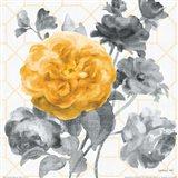 Geometric Watercolor Floral II