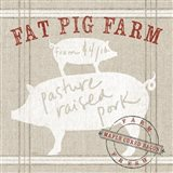 Farm Linen Pig