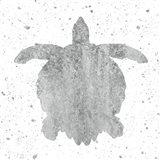 Silver Sea Life Turtle