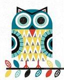 Folk Lodge Owl V2 Teal