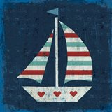 Nautical Love Sail Boat