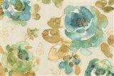 My Greenhouse Roses I Linen