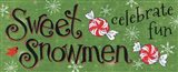 Sweet Snowmen Sign II