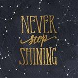 Starry Words II Gold