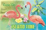 Island Time Flamingo I Bright