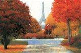 Autumn in Paris Couple