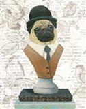 Canine Couture Newsprint III