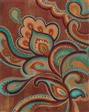 Bohemian Paisley I Turquoise