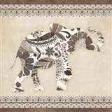 Boho Elephant I Neutral