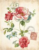 Elegant Floral II Vintage v2