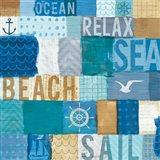 Beachscape Collage I