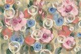 Parisian Floral I Pastel