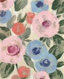 Parisian Floral III Pastel