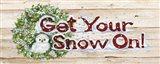 Holiday Sayings III on Wood