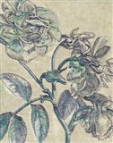 Belle Fleur I Crop Linen