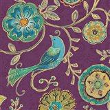 Bohemian Wings VII Aubergine
