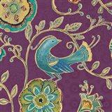 Bohemian Wings IX Aubergine