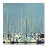 Harbor Boats Blue Sky