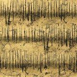 Golden Trees III Taupe Pattern II