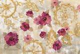 Elegant Fresco Floral