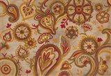 Linen Paisley