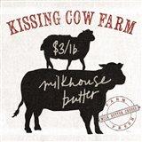 Farm Linen Cow Black