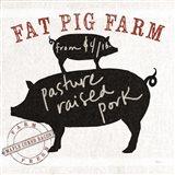 Farm Linen Pig Black