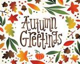 Harvest Time Autumn Greetings